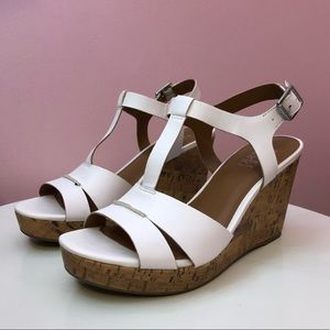 FRANCO SARTO | Mira White Wedges